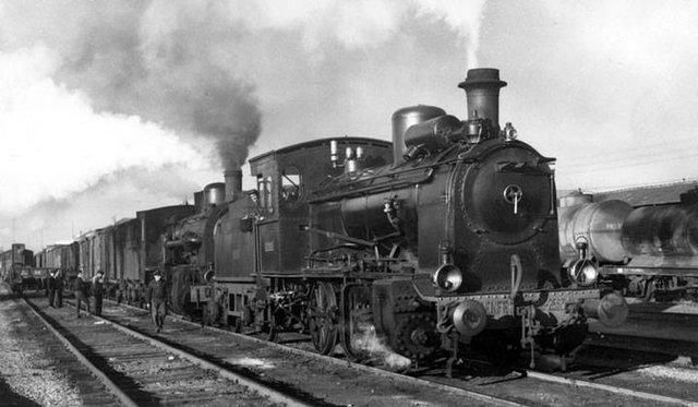 El Ferrocarril de vapor