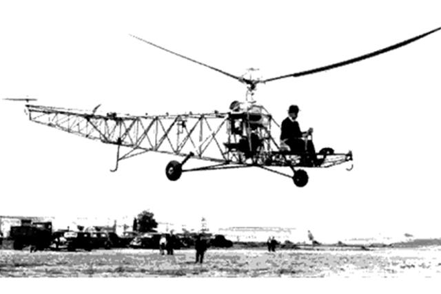 El autogiro y el helicóptero