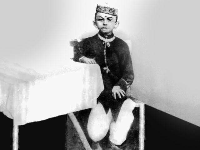 Gandhi was born on October 2nd, 1869