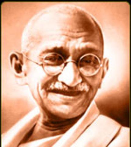Gandhi died