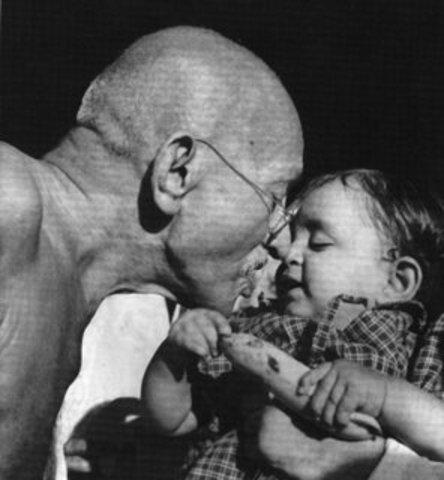 Gandhi was born