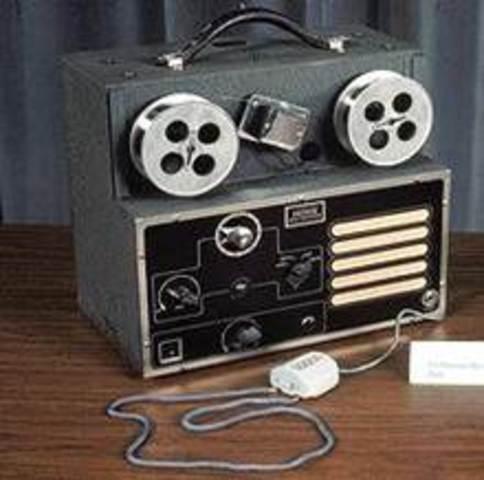 Magnetófono de alambre