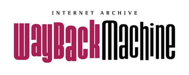 Creación de la WayBack Machine
