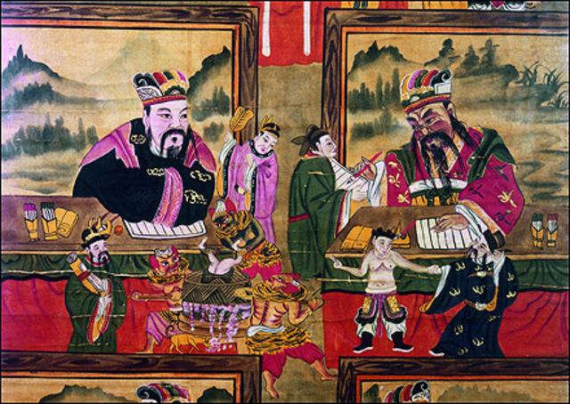 FORMAS RUDIMENTARIAS DE EVALUACIÓN EN CHINA EN 2200 A. C.