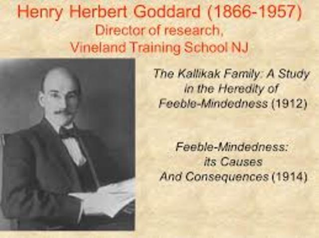 Henry Herbert Goddard (1928)