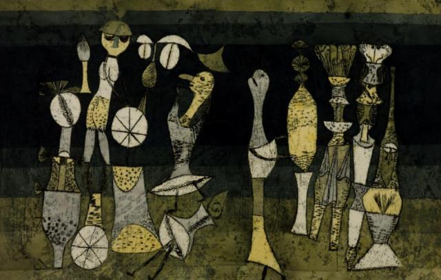 """Paul Klee """"Komödie"""""""