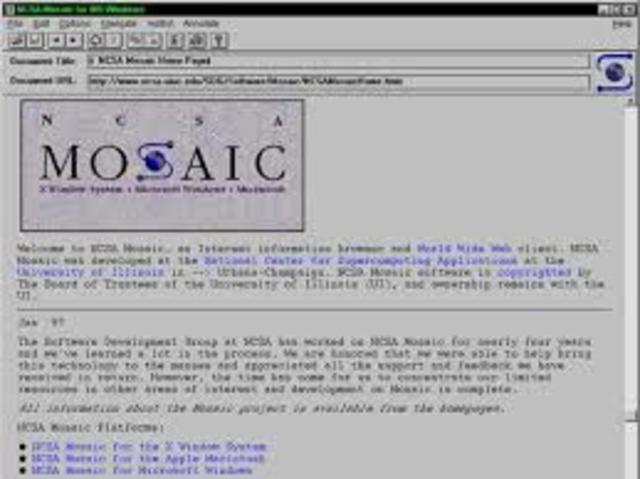 Primeiro Browser (Navegador)