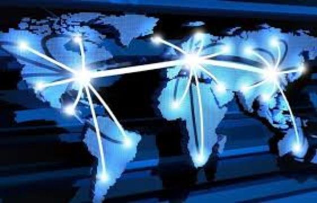 Primeira conexão mundial