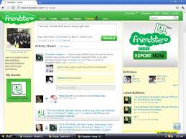 A primeira Rede Social