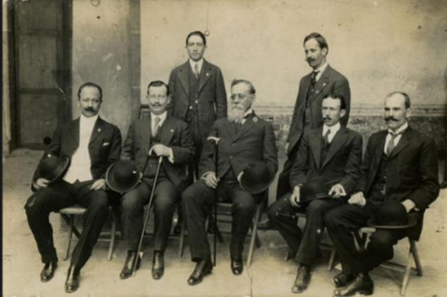 Gobiernos de la Revolución de 1917 a 1924