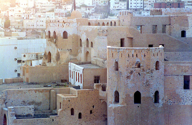 Construction of the Al-Ajyad Castle