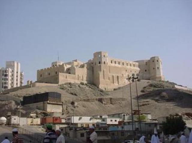 Demolition of the Ayjad Fortress