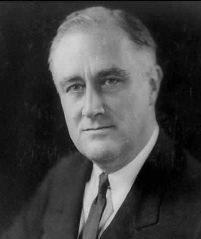 franklin d roosevelt was elected president
