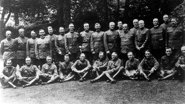 The American Expeditionary Forces