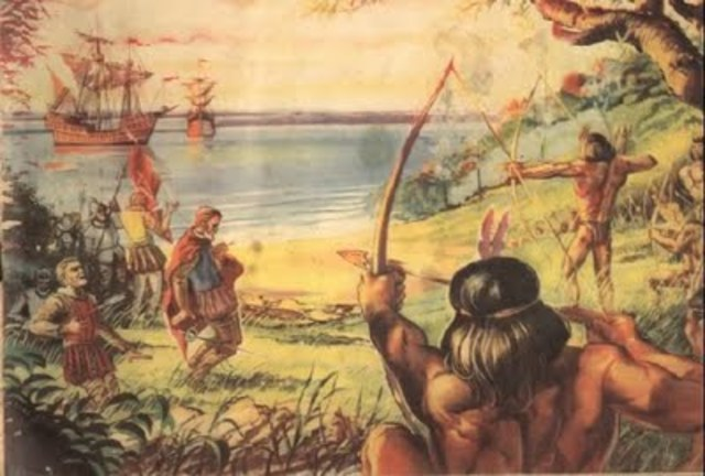 INVASION ESPAÑOLES - AMERICA