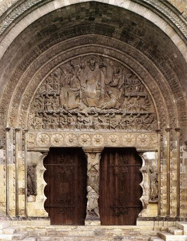Christ in Majesty, Romanesque, c. 1115 CE