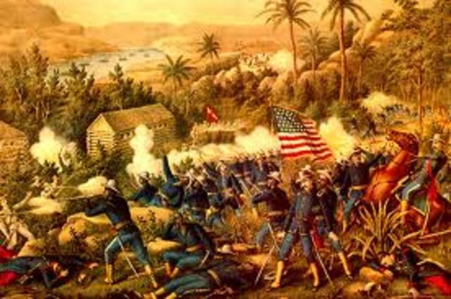 spanish american war.