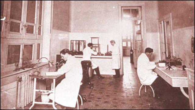 Fundación del departamento nacional de higiene