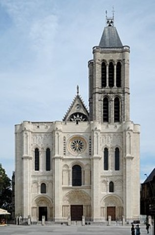 The Church of Saint-Denis - Gothic - 1140 to 1144