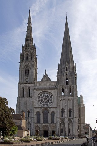 Chartres Cathedral - Gothic - 1194 to 1220