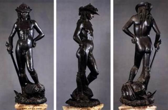 David - Donatello di Niccolo di Betto Bardi - Renaissance - 1446 to 1460
