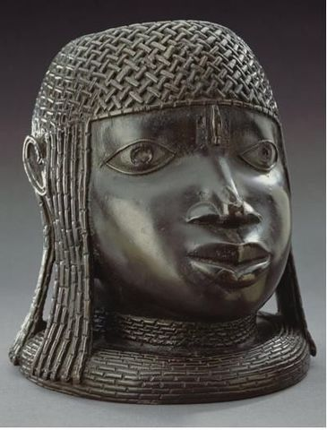 Memorial Head of an Oba - Africa - 1500 to 1599