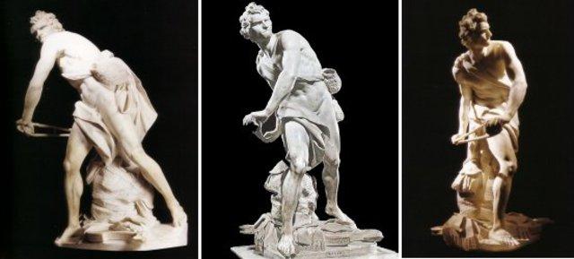 David - Gian Lorenzo Bernini - Baroque - 1623 to 1624
