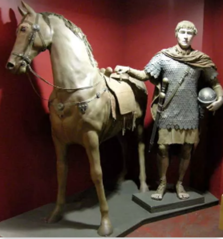 Servius Tullius, the king of Rome, increases the number of the cavalry corps (equites) to 1,800.