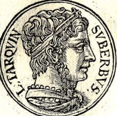 Reign of Lucius Tarquinius Superbus, last king of Rome