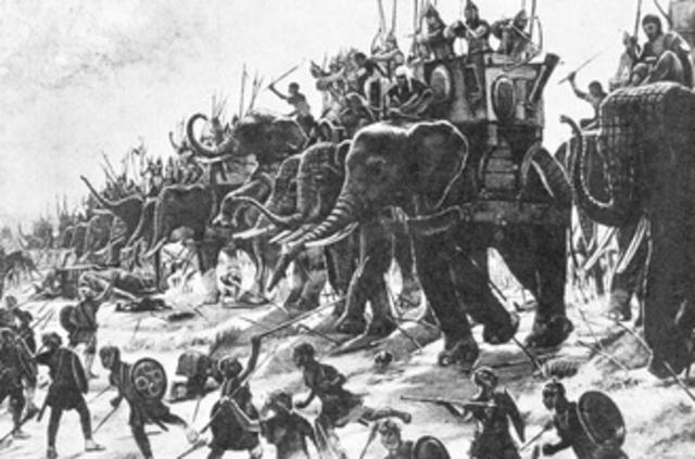 Rome sends an army