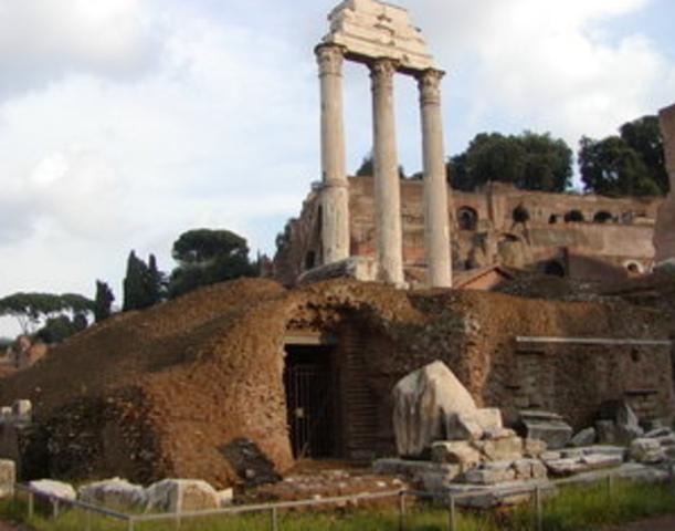 Temple Dioscuri