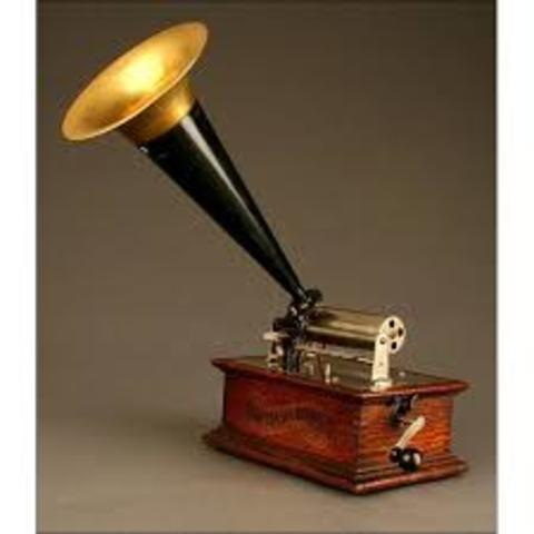Edison: fonógrafo  (audio y telecomunicaciones)