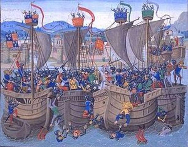 The Battle of Les Espangols sur Mer