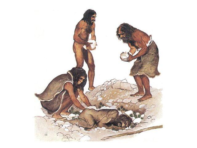 En la prehistoria