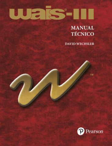 Aparece la tercer edición de la Escala de Inteligencia para adultos de Wechsler (WAIS-III)
