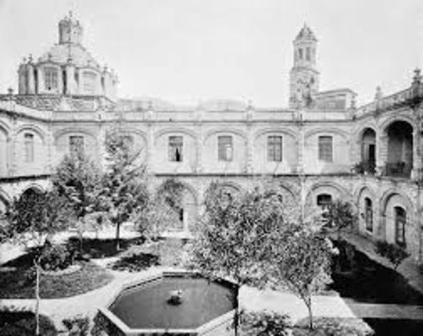 Hospital de San Hipólito, primero en su género dedicado al cuidado de tales enfermos en México
