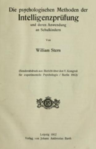 Stern y el IQ