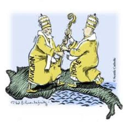 Beginning of Papal Schism