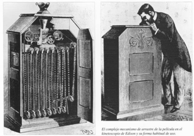 Thomas Alva Edison inventa el kinetógrafo: primera cámara sonora