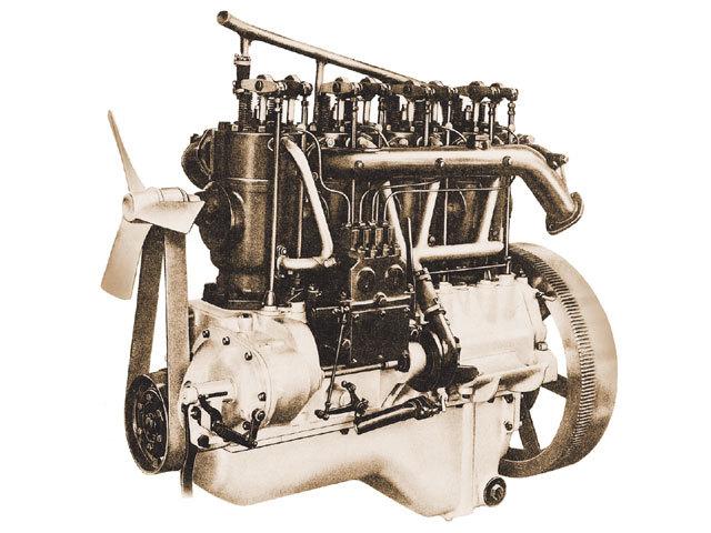 Máquina de combustión interna y energía eléctrica