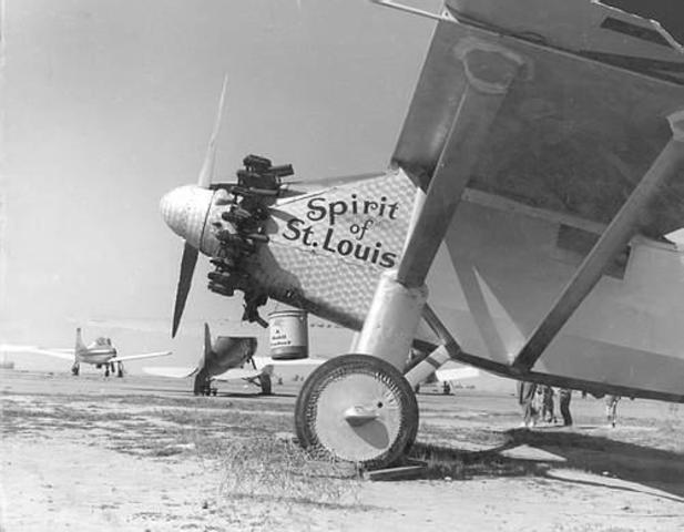 The Spirit of St. Louis Lands