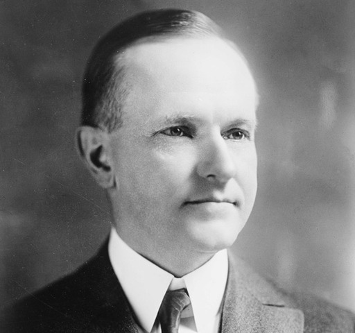 President Calvin Coolidge is elected