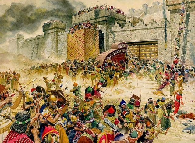 Ciro el grande conquista Babilonia