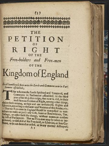Peticiones de derechos