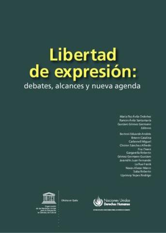 E.E.U.U Carta de Derechos incorpora las naciones de libertad de Expresión