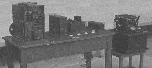 Construcción del  aritmómetro electromecánico.