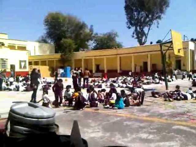 Escuela primara Edo. De Nuevo León.
