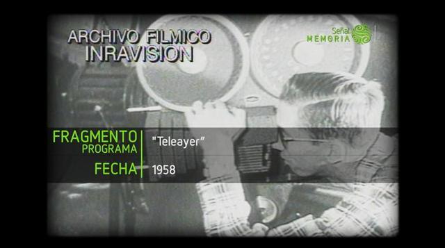 ¿Cómo se hacía la televisión en Colombia en 1958?