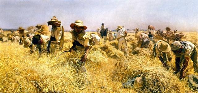Con la agricultura el hombre excedió su alimentación y fundo los primeros pueblos y ciudades