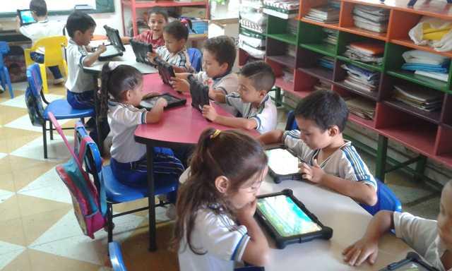 Afianzando lo aprendido en clase utilizando las TIC y RED